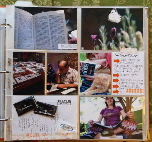 Project Life - Week 1 Right Page No Insert_L